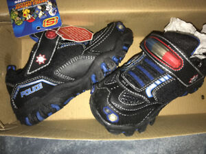 "BRAND NEW SKETCHERS ""Police"" HOT-LIGHTS SHOES"