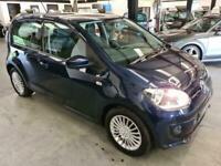 2013 Volkswagen UP 1.0 HIGH UP-SH-BLUE-2 KEYS-GREAT FIRST TIME CAR Hatchback Pet