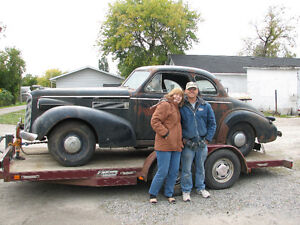 Trade 1939 Cadillac Lasalle Coupe for Enclosed Car Hauler