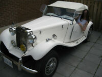 Replica of 1952 MG TD