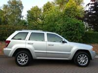 2007 57 Jeep Grand Cherokee 3.0CRD V6 auto Overland..HIGH SPEC..STUNNING !!
