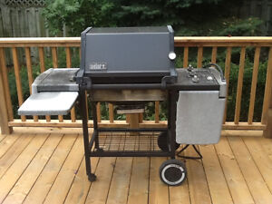 Weber Platinum Series barbeque