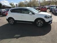 2017 Suzuki SX4 S-Cross 1.0 Boosterjet SZ-T 5dr Petrol white Manual