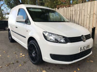 2012 12 Volkswagen Caddy Van 1.6TDI C20 75 PS STUNNING VAN 53.3 MPG MAY P/X