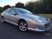 2009 facelift Peugeot 407 2.0 hdi Sr # Cheap insurance and tax model # parking sensors
