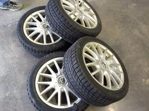 Jetta 2012 Winter tires - very good condition!