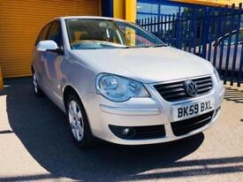 2010 Volkswagen Polo 1.4 Match Hatchback 5dr Petrol Automatic (165 g/km, 79