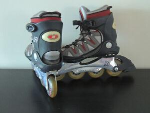 K2 Size 7.5 inline skates good cond
