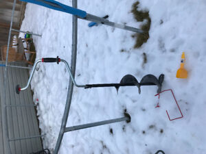 Ice auger for $20