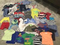 Bundle of boys baby clothes - in great condition. Various sizes from newborn to 6-9months