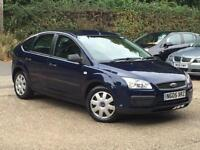 2005 Ford Focus 1.6 LX 5 Door Blue only 67,592 Miles SUPERB THROUGHOUT!!!!!