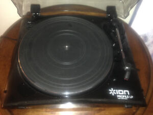 Modern style USB/rca  turntable / record player