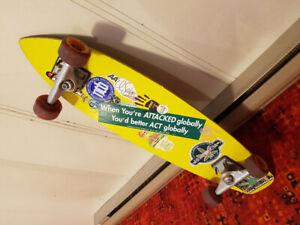 "longboard flexdex classic 29"" skateboard"