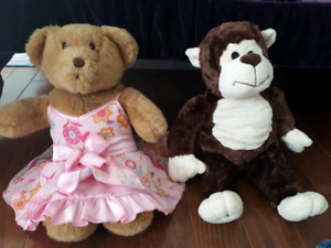 Build-a-bear bears, accesories, and clothes