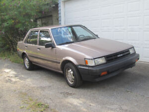 1986 Toyota Corolla with Collector Status