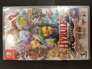Hyrule Warriors Definitive Edition Nintendo Switch (Brand New)