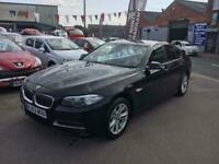 2013 63 BMW 5 SERIES 2.0 520D SE *** FULL SERVICE HISTORY *** BLACK LEATHER ***