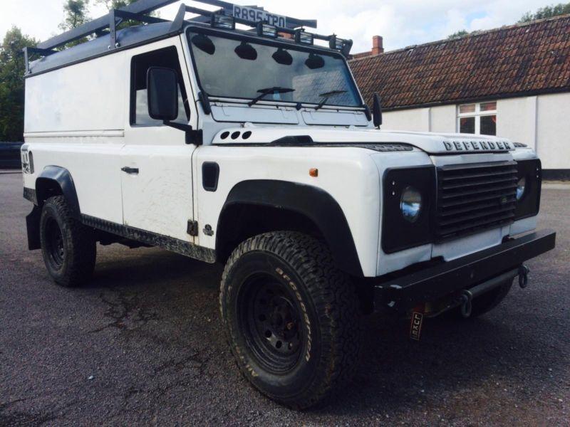 1997 Land Rover Defender 110 300tdi Van In