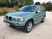 2002 02 BMW X5 3.0D AUTO SPORT FULL LEATHER FULL HISTORY 3 OWNER LOVELY PX SWAPS