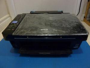 Epson Stylus NX410 All-In-One Injet Printer Scanner Copier WiFi
