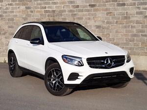 2017 Mercedes-Benz GLC 300 4MATIC Premium, Exclu and Night pack