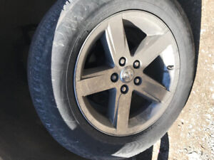 20 inch Ram BigHorn Rims and tires