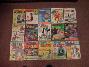 Cracked Magazine Specials any 5 for $20.00