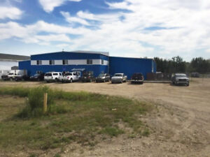 For Sale or Lease - Hangar/Industrial Building on 10 Acres