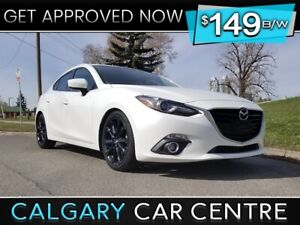 2015 Mazda3 $149B/W TEXT US FOR EASY FINANCING! 587-317-4200