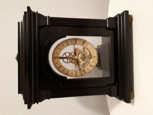 Table clock, battery operated from Bombay Company