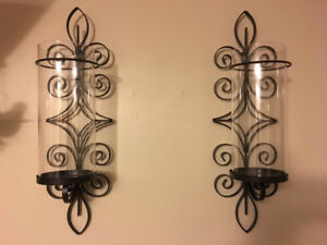 Two Candle Wall Sconces