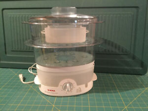 T-FAL  ULTRA-COMPACT FOOD STEAMER