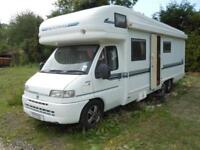 Auto Trail Chieftain 6 Berth Rear Fixed Bed Motorhome For Sale