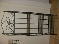 Bakers shelving rack