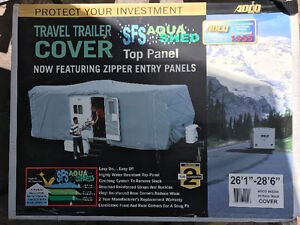Used 26-28 foot travel trailer cover