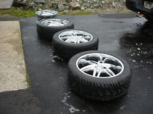 4 22 inch and 3 235/45r22 inch tires St. John's Newfoundland image 1