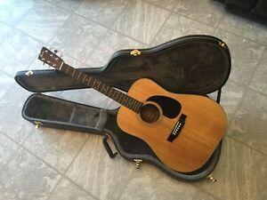 Mint condition Fender f-35 acoustic guitar