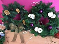 Wreaths&Table decorations.