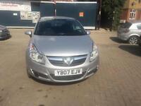 2007 Vauxhall Corsa 1.2 i 16v Life Hatchback 3dr Petrol Manual (139 g/km,