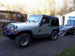 Jeep TJ 4.0 5 Speed