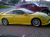 2003 Toyota Celica GT Hatchback Body kit and Rims Navigation