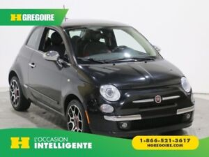 2012 Fiat 500 LOUNGE CUIR TOIT PANO MAGS BLUETOOTH