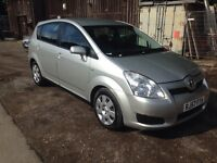 2008 TOYOTA COROLLA VERSO T2 D-4D SILVER 7 SEATER