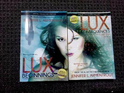 Lux Series by Jennifer L. Armentrout Paperback