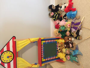 Puppet theatre & puppets