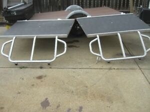 LIKE NEW SLED RAMPS FOR A TRITON TRAILER
