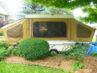 'LITE' STARCRAFT TENT-TRAILER CAN BE TOWED WITH SMALL CAR