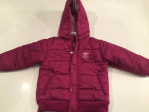 adidas girls winter coat