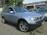 2005 55 BMW X3 2.0 D SE 5D 148 BHP DIESEL