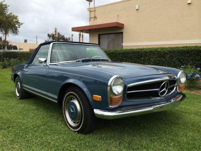 1969 Mercedes Benz 280SL DB396 Blue W113